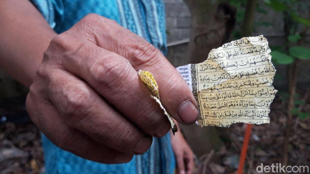 Penjual di Tangerang Ngaku Tak Tahu soal Petasan Dibungkus Kertas Al-Quran