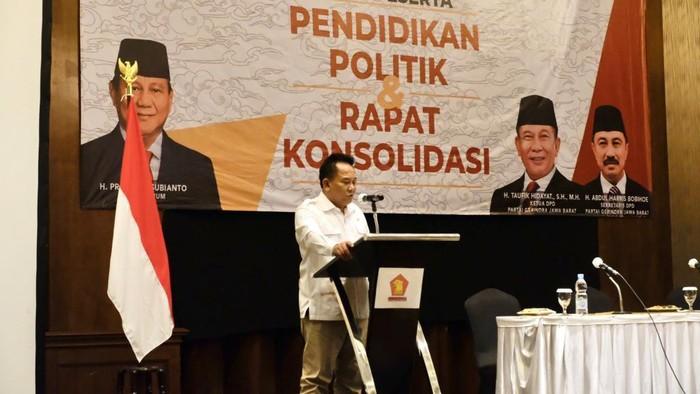 Ketua DPRD Gerindra Jabar Taufik Hidayat