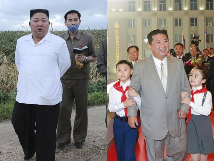 Kim Jong Un makin kurus (AP Photo/Ahn Young-joon)