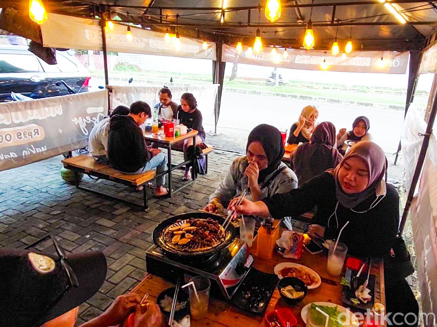 Korean BBQ Murah di Depok. Harganya Hanya Rp 99 Ribu untuk 4 Orang.