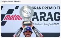 Meme Pecco Bagnaia Juara MotoGP Aragon