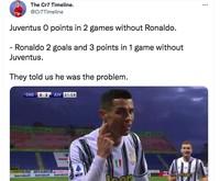 Meme Ronaldo Juventus