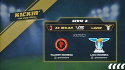 Prediksi Big Match AC Milan Vs Lazio Malam Nanti