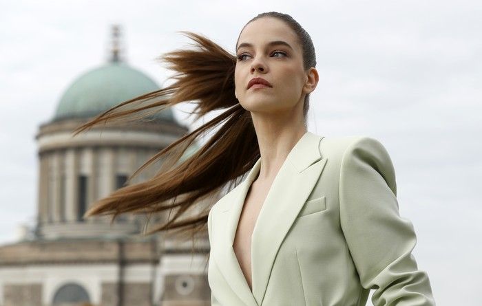 BUDAPEST, HUNGARY - OCTOBER 26: In this image released on November 08, Barbara Palvin poses ahead of the MTV EMA's 2020 on October 26, 2020 in Budapest, Hungary. The MTV EMA's aired on November 08, 2020. (Photo by Laszlo Balogh/Getty Images for MTV)