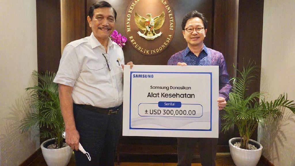 Samsung Sumbang Rp 4 Miliar Buat Penanganan Corona di Indonesia