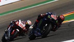 Bagnaia Terus Dekati Quartararo di Klasemen MotoGP 2021