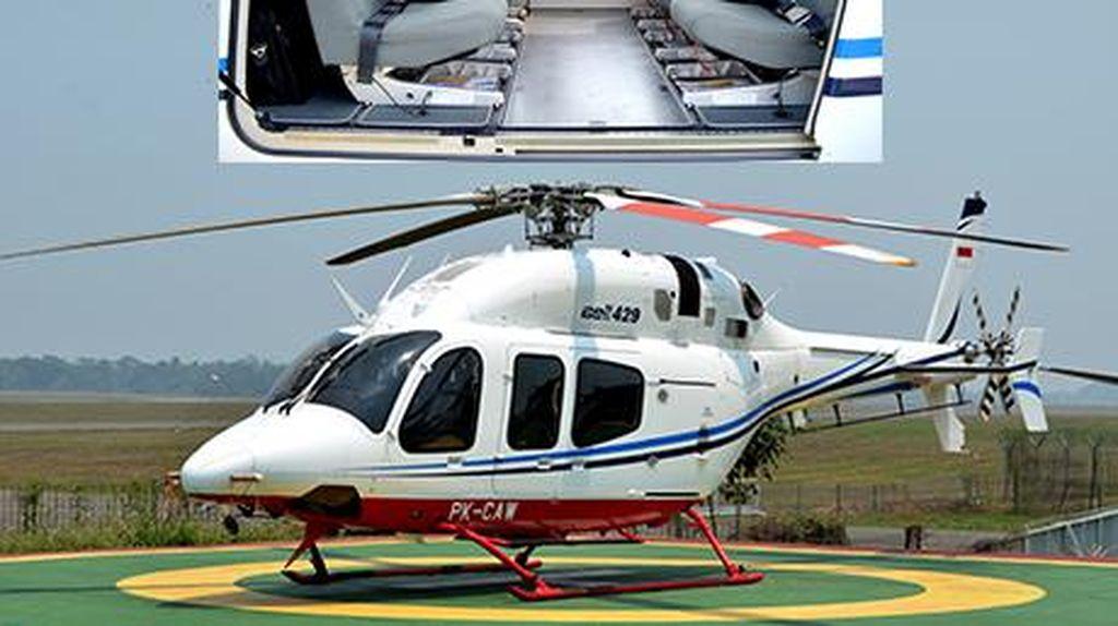 Detik-detik Helikopter Terguling di Curug Tangerang, Sempat Naik 100 Meter