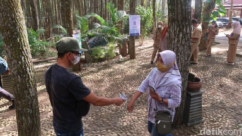 Jalani Uji Coba Internal, Pinus Sari Terkenda Sinyal Untuk Scan QR Code PeduliLindungi