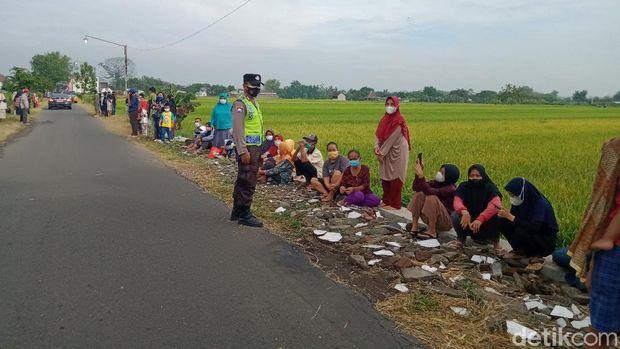 Jokowi kunjungi vaksinasi door to door di Klaten