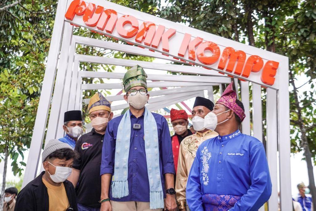 Kunjungan Sandiaga di Riau, September 2021