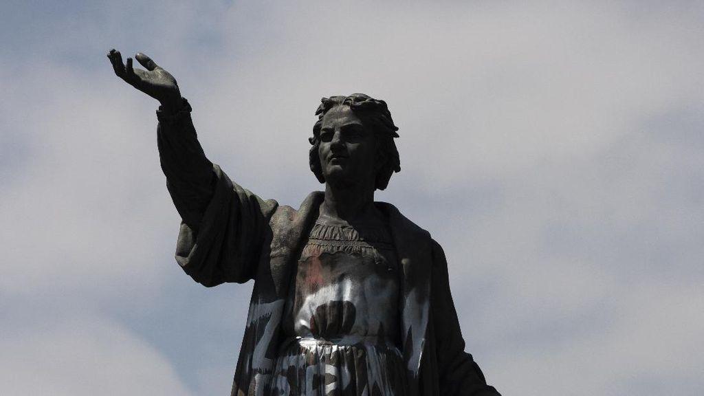 Dianggap Penjajah, Patung Christopher Columbus di Meksiko Diganti
