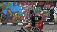 Polri Gelar Lomba Mural, Gejayan Memanggil: Itu Tindakan Cuci Muka