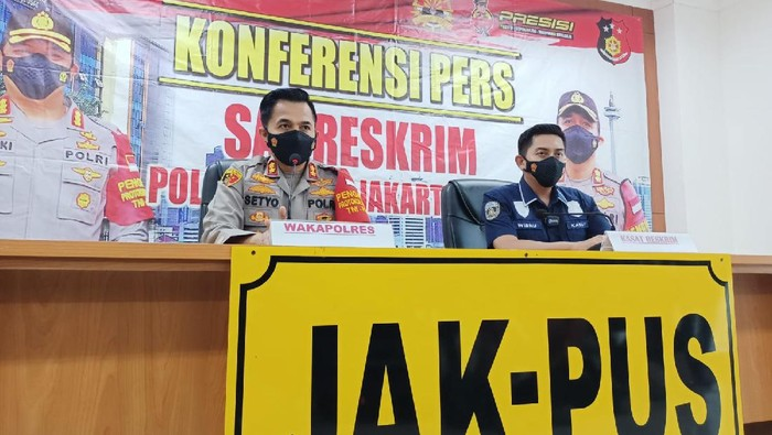 Polres Jakpus jelaskan perkembangan penyelidikan kasus dugaan pelecehan seks pegawai KPI, Senin (13/9/2021)