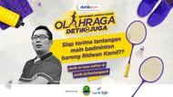 Mau Main Badminton Bareng Ridwan Kamil? Begini Cara Ikutannya!