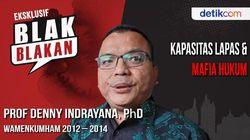 Blak-blakan Denny Indrayana, Grasi Massal untuk Napi Narkoba