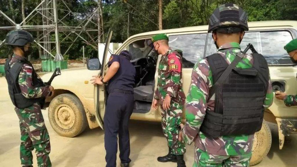 TNI Gagalkan Penyelundupan Land Cruiser di Perbatasan RI-Malaysia, Sopirnya Kabur