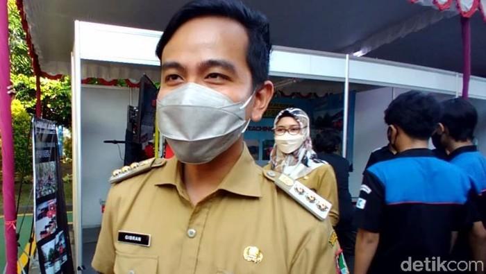 Wali Kota Solo Gibran Rakabuming Raka, Senin (13/9/2021).