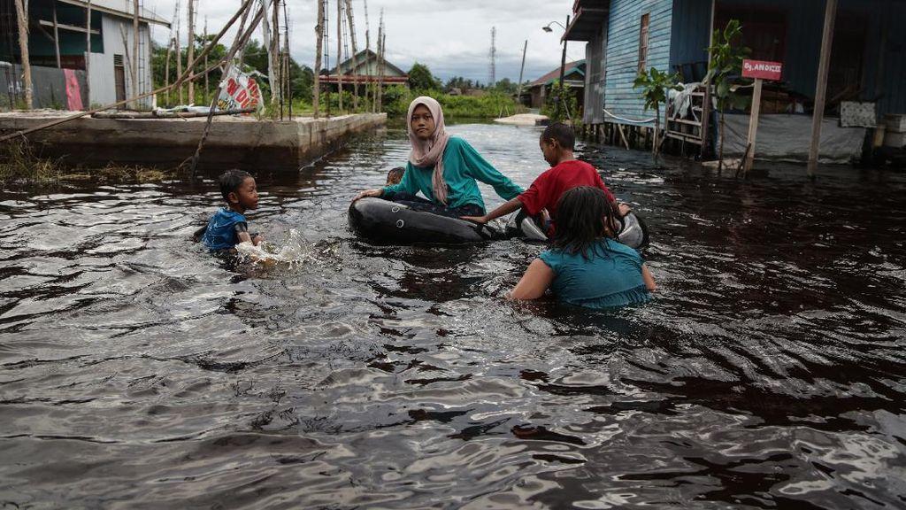 13 Kelurahan Terendam, Palangkaraya Siaga Darurat Banjir