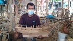 Curhat Perajin Miniatur Kapal: Ekspor Sedang Loyo