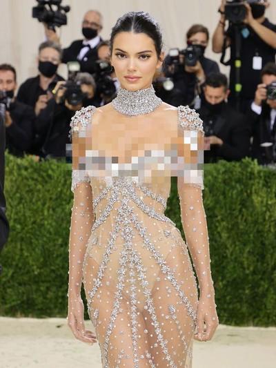 Kendall Jenner di Met Gala 2021