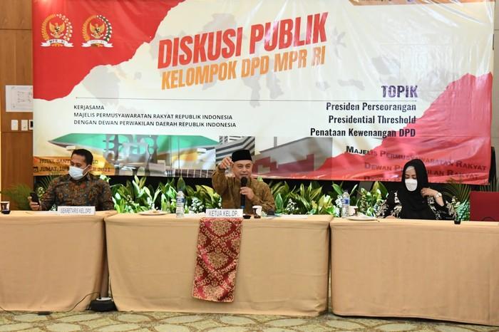 Ketua Kelompok DPD di MPR Tamsil Linrung
