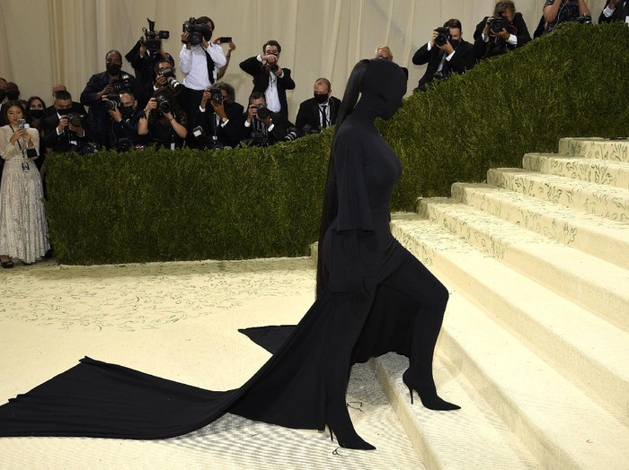 Kim Kardashian attends The Metropolitan Museum of Arts Costume Institute benefit gala celebrating the opening of the