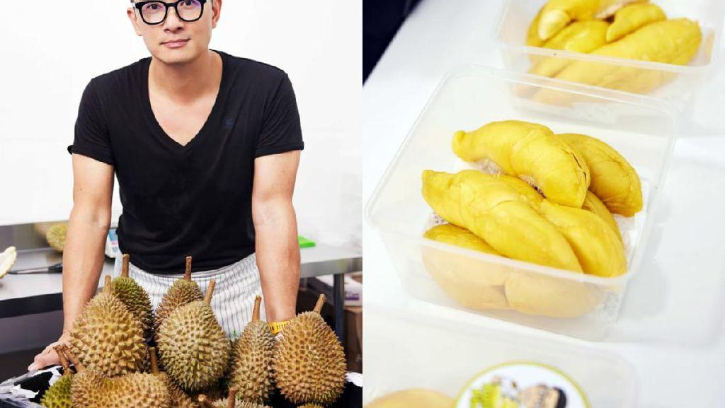Mantan Pilot Ini Sukses Jualan Durian Kupas, Laku 300 Kg Per Hari