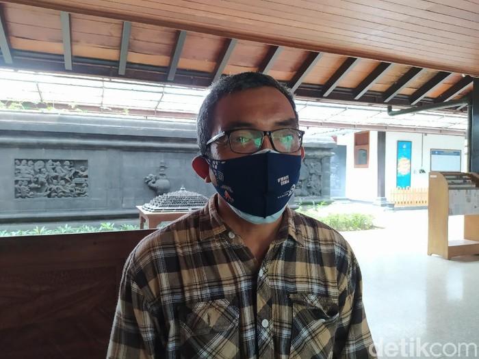 Pamong Budaya Ahli Madya, Balai Konservasi Borobudur, Yudi Suhartono, Selasa (14/9/2021).