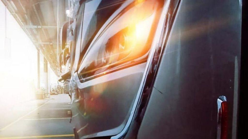 PO SAN Sebar Teaser Bus Baru, Laksana Single Glass?