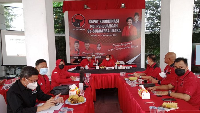 Rapat DPRD PDIP Sumut (dok. PDIP)