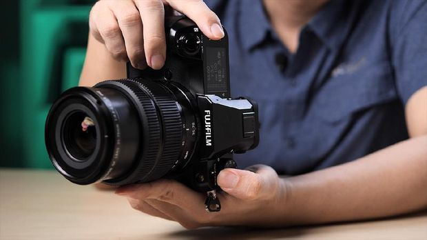 Review kamera Fujifilm GFX50S II