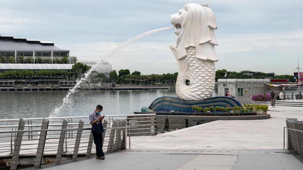 Singapura Rogoh Rp 15,75 T buat Sembuhkan Pasar Modal dari Corona