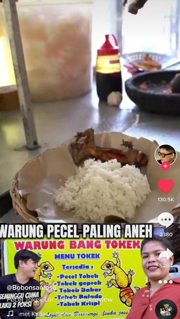 Viral Warung Jual Tokek Geprek, Ini 5 Klaim Khasiat Makan Daging Tokek