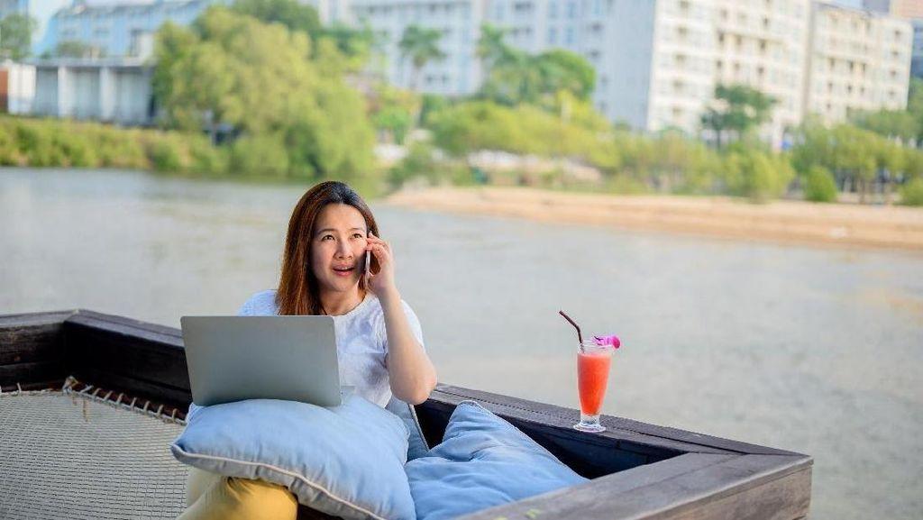 Perhatiin Nih, 4 Tips Biar Kerja dari Rumah Jadi Lebih Santuy