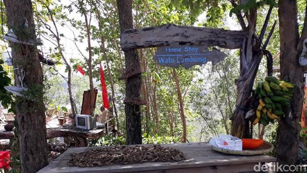 Salah satu pengelola Watu Lumbung, Ari mengatakan tahun lalu Watu Lumbung sudah menyediakan fasilitas penunjang prokes. Namun, tahun ini memang belum ada karena sifat kampung edukasi yang berada di alam terbuka. (Pradito Rida Pertana/detikTravel)