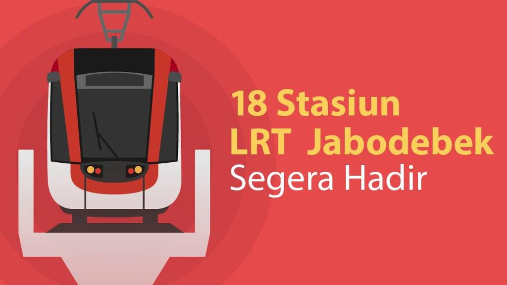 Operasi 2022, Ini Daftar Lengkap 18 Stasiun LRT Jabodebek