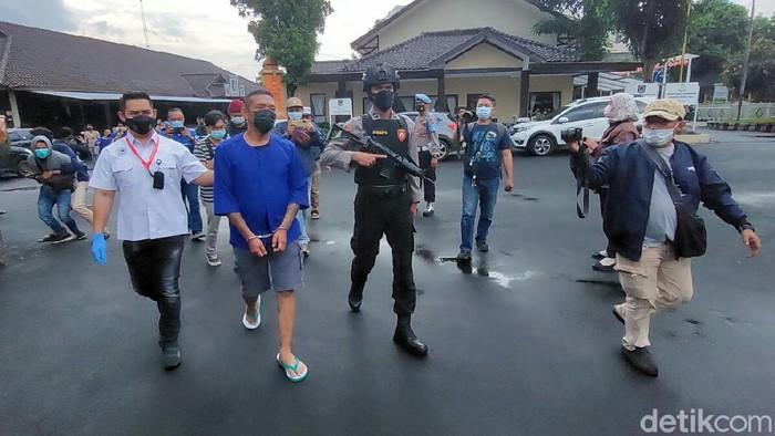 Boris Preman Pensiun Ditangkap Polisi