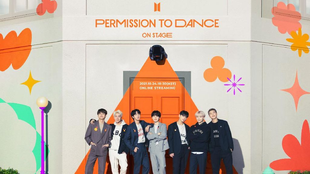 BTS Bakal Gelar Konser Tatap Muka Setelah 2 Tahun di SoFi Stadium LA
