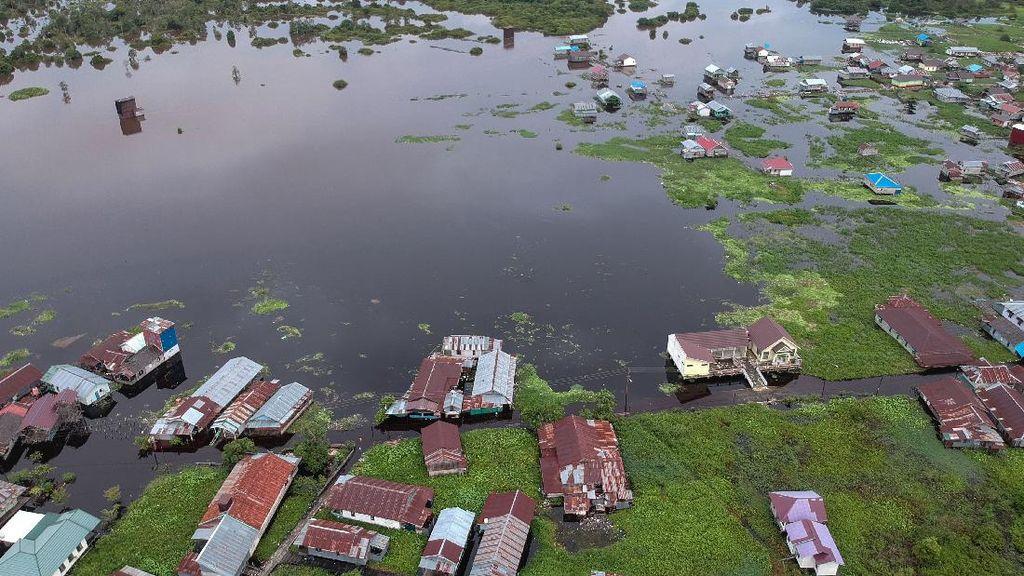 7.547 Warga Palangkaraya Terdampak Banjir Luapan Sungai Kahayan