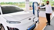 Siap-siap! Kata Jokowi 2-3 Tahun Lagi Banyak Mobil Listrik di RI