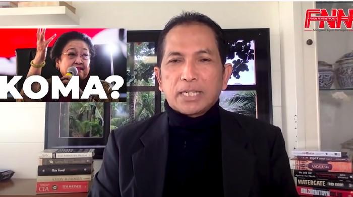 Hersubeno Arief menanggapi laporan PDIP DKI soal lapora terhadapnya