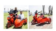 Bamsoet Pamer Motor Listrik Gesits Dimodifikasi Ala Kendaraan Sespan