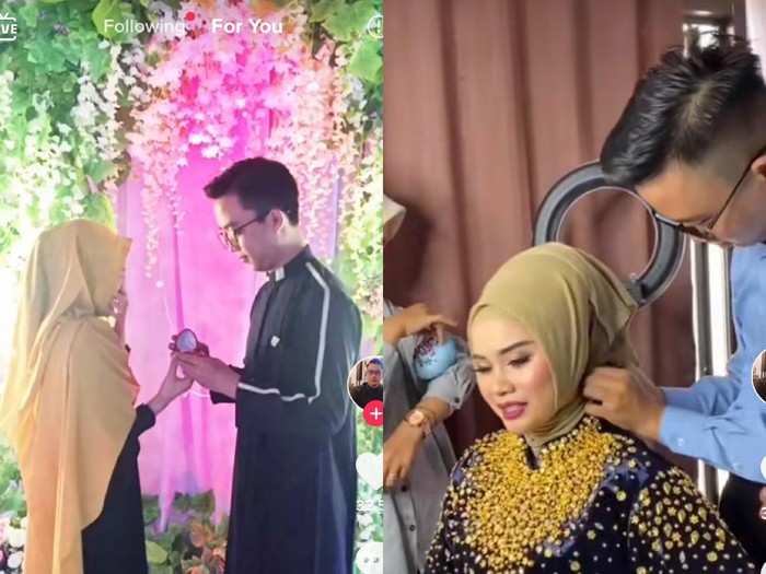 Kisah viral pria yang merias mantan tunangannya di hari pernikahan.