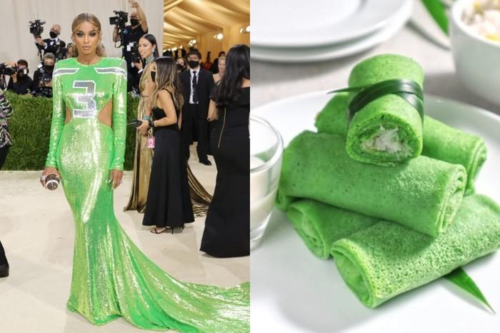 Kostum Seleb di Met Gala 2021 Ingatkan Pada Makanan