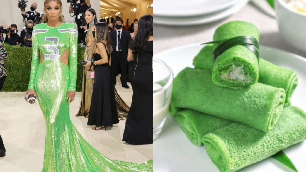 5 Kostum Met Gala 2021 Ini Mirip Sereal hingga Dadar Gulung