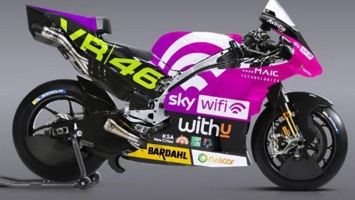 Livery baru motor MotoGP Sky VR46 Avintia