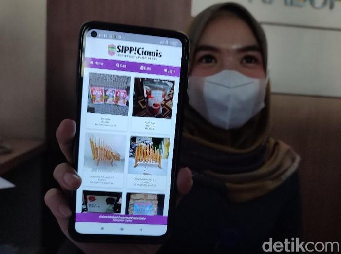 Pemkab Ciamis meluncurkan aplikasi untuk menggenjot pemasaran UMKM