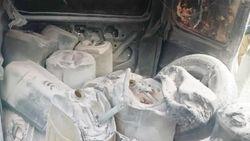 Mobil Bawa Bensin dalam Jeriken Terbakar di SPBU Deli Serdang, 2 Orang Luka