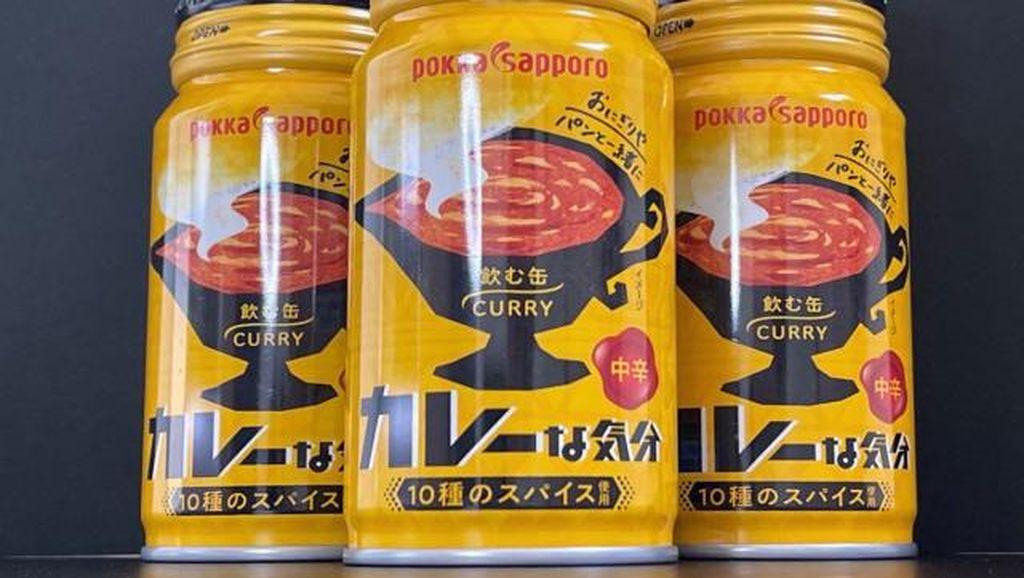 Persis Kuah Kari, Minuman Kaleng Rasa Kari Ini Gurih Berempah
