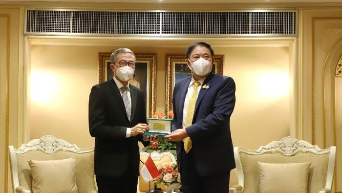 Pertemuan Gubernur Bangkok dengan Duta Besar RI untuk Bangkok